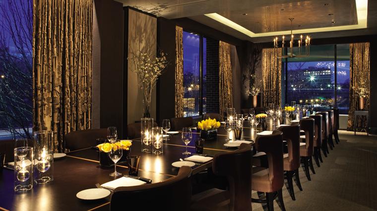 PropertyImage FourSeasonsWashingtonDC Hotel Restaurant BourbonSteakRestaurant PrivateDining CreditMichaelKleinberg