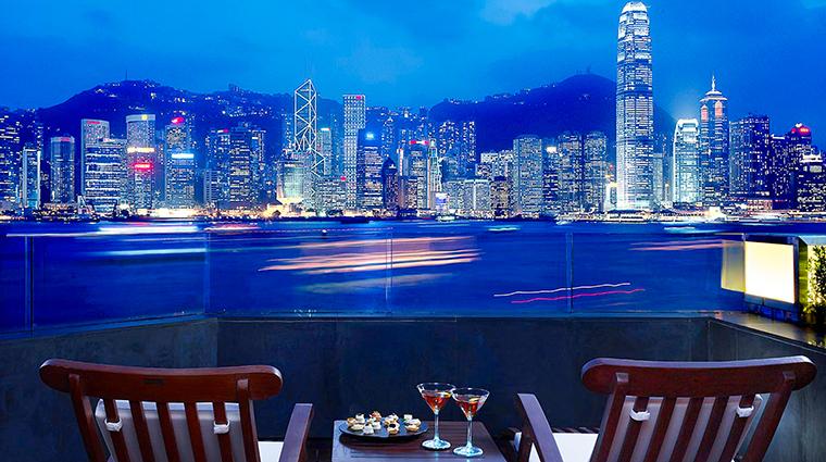 PropertyImage InterContinentalHongKong 7 Hotel GuestroomsandSuites HarbourviewThirdFloorPatioSuite CreditInterContinentalHongKong