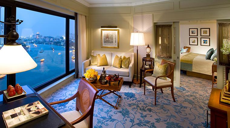PropertyImage MandarinOrientalBangkok 7 Hotel GuestroomSuites BangkokExecutiveSuite CreditMandarinOrientalHotelGroupLLC