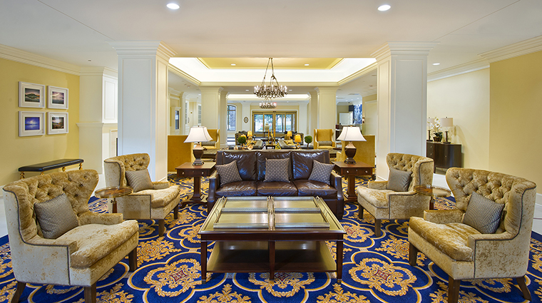 PropertyImage MorrisInn 6 Hotel PublicSpaces Lobby CreditMorrisInnNotreDame