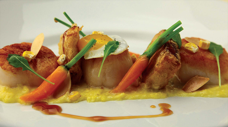 PropertyImage OrchidsAtPalmCourt 10 Restaurant Food Scallops CreditOrchidsAtPalmCourt