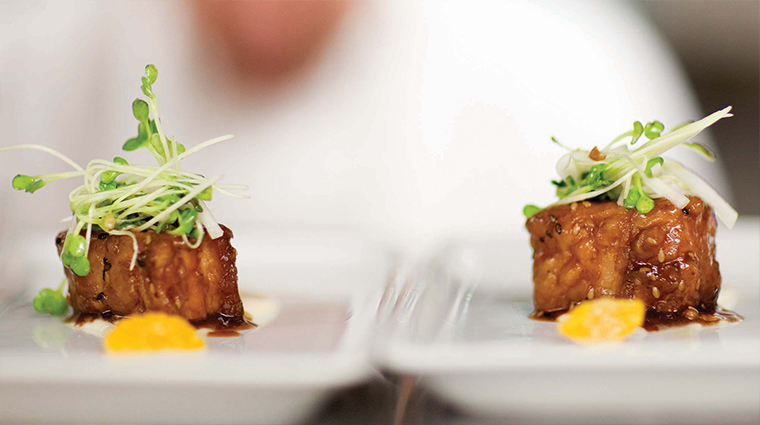 PropertyImage OrchidsAtPalmCourt 12Restaurant Food PorkBelly CreditOrchidsAtPalmCourt