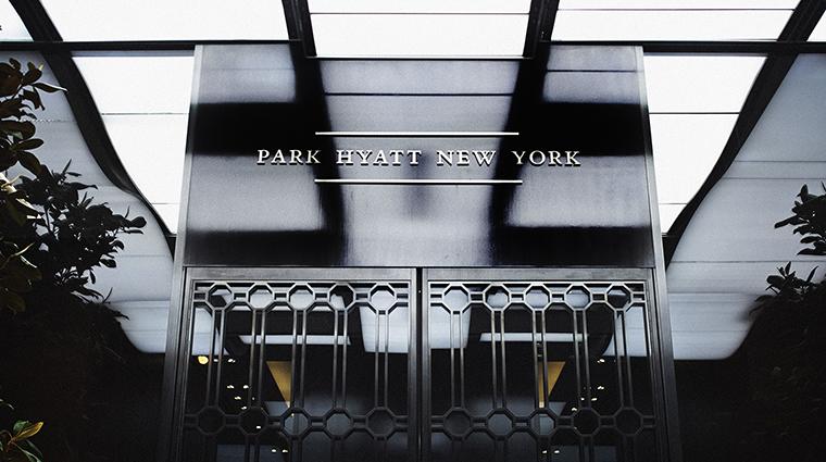 PropertyImage ParkHyattNY Hotel Exterior PHSign CreditParkHyatt