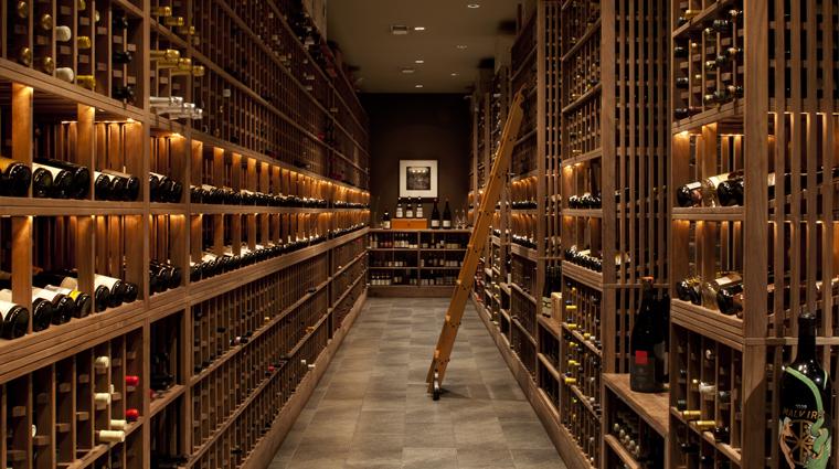 PropertyImage Quince Restaurant WineCellar CreditPaulDryer