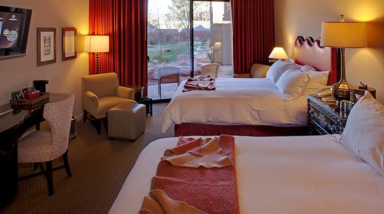 PropertyImage SedonaRougeHotelandSpa Hotel GuestroomsandSuites QueenGuestroom CreditSedonaRougeHotelandSpa