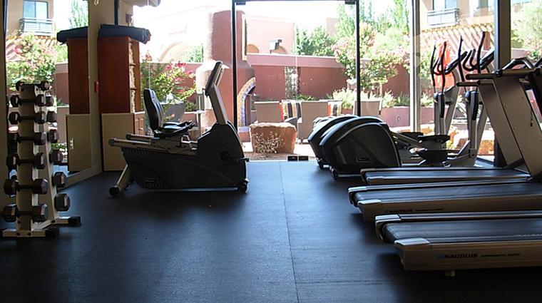 PropertyImage SedonaRougeHotelandSpa Hotel PublicSpaces FitnessCenter CreditSedonaRougeHotelandSpa