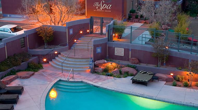 PropertyImage SedonaRougeHotelandSpa Hotel PublicSpaces PoolandSpa 2 CreditSedonaRougeHotelandSpa