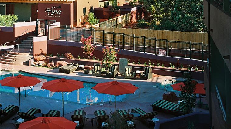 PropertyImage SedonaRougeHotelandSpa Hotel PublicSpaces PoolandSpa CreditSedonaRougeHotelandSpa