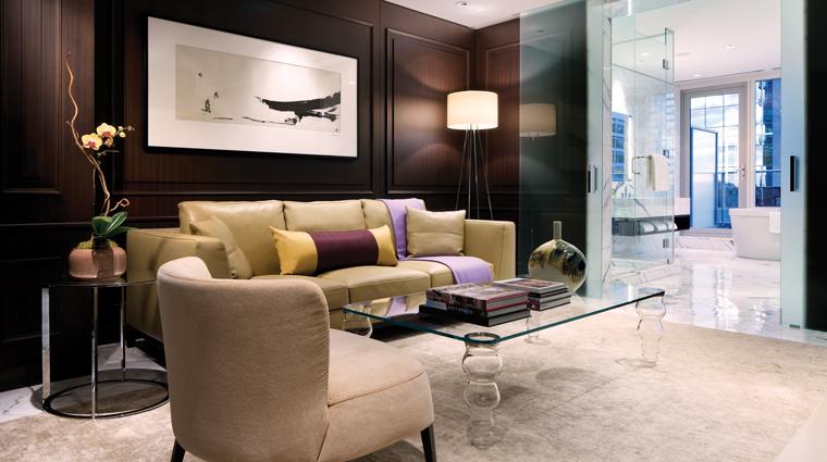 PropertyImage ShangriLaHotelToronto 3 Hotel GuestroomSuite OwnersSuite SittingArea CreditShangriLaInternationalHotelManagementLTD