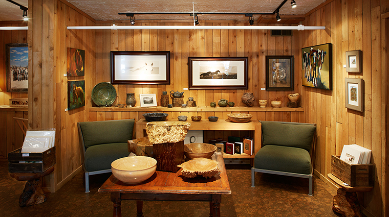 PropertyImage SundanceResort 12 Hotel PublicSpaces ArtStudioGallery CreditSundanceResort