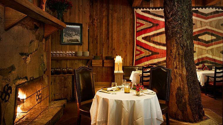 PropertyImage SundanceResort 19 Hotel Restaurant TreeRoomFireside CreditSundanceResort