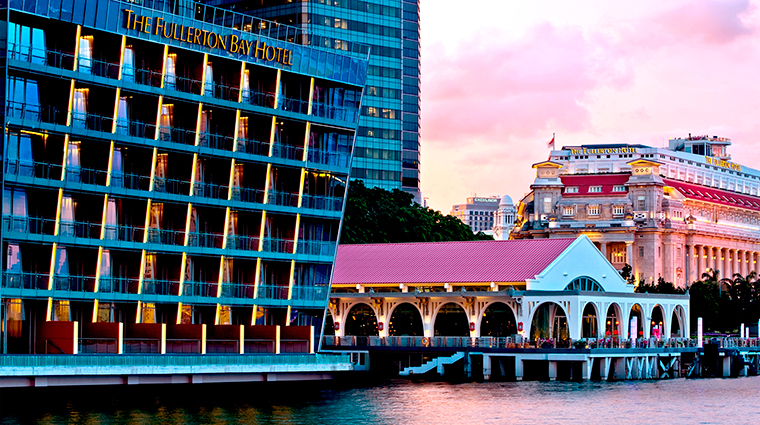 PropertyImage TheFullertonBaySingapore Hotel Exterior WaterfrontView CreditTheFullertonBaySingapore