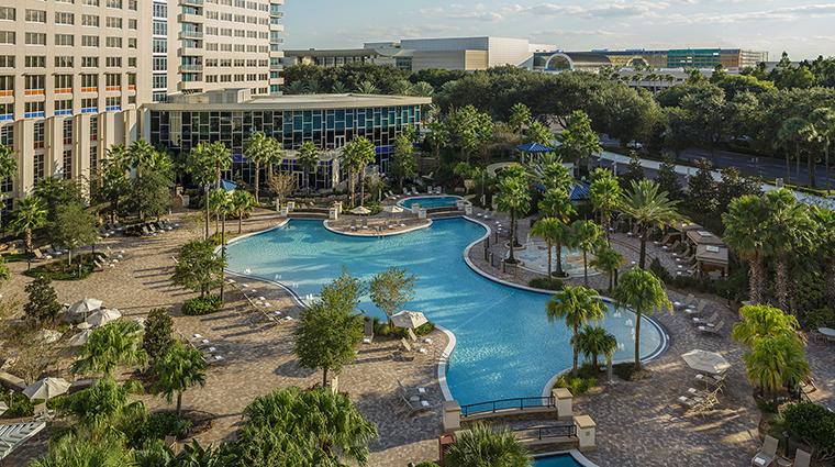 PropertyImage TheHyattRegencyOrlando Hotel 10 PublicSpaces Pool CreditHyattCorporation