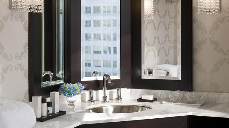 PropertyImage TheNines Hotel GuestroomSuite GuestBathroomVanity StarwoodHotelsAndResortsWorldwideInc