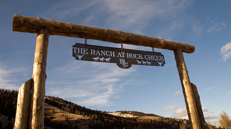 PropertyImage TheRanchatRockCreek 5 Hotel Exterior Sign CreditTheRanchatRockCreek
