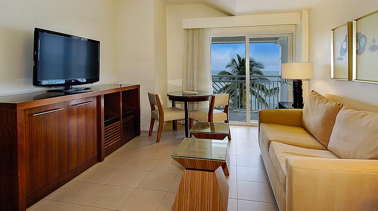 PropertyImage TheReachResort 9 Hotel GuestroomSuites OceanviewBoutiqueSuiteLiving CreditTheReachResort VFMLeonardoInc
