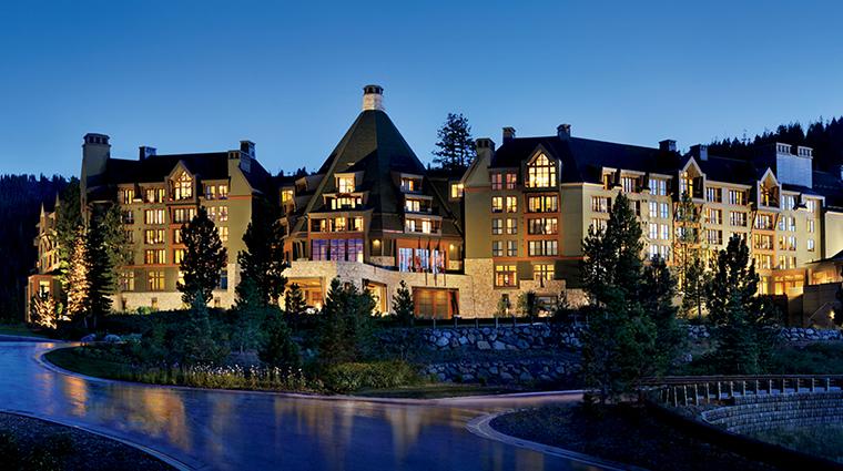 PropertyImage TheRitz CarltonLakeTahoe Hotel 1 Exterior Night CreditRousePhotography