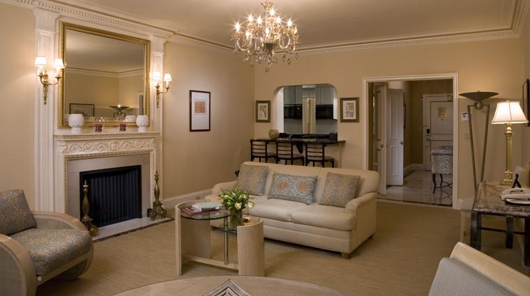 PropertyImage TheSherryNetherland 1 Hotel GuestroomSuite SuiteLivingRoom CreditPreferredHotelGroup