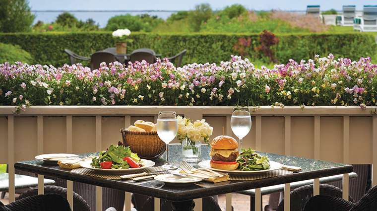 PropertyImage TheWauwinet Hotel Restaurant LunchandView CreditNantucketIslandResorts