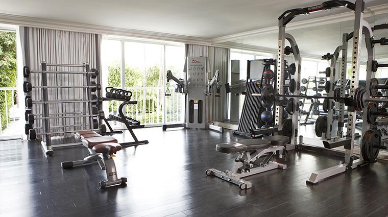 PropertyImage ViceroySantaMonica 20 Hotel PublicSpaces FitnessCenter CreditViceroyHotelGroup