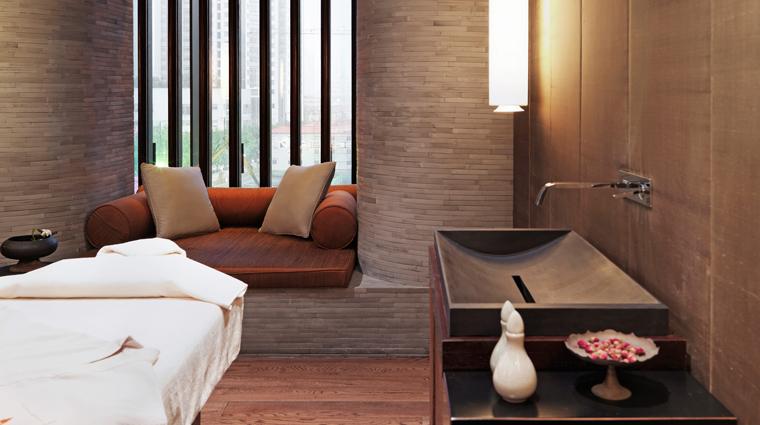 PropertyImage AnantaraSpaatThePuliHotelandSpa Shanghai Spa Basics SingleTreatmentRoom CreditThePuliHotelandSpa