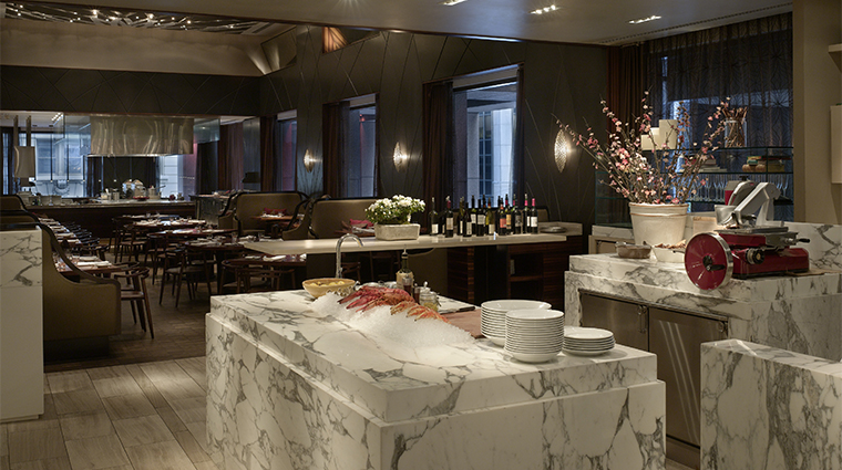 PropertyImage AndazWallStreet 10 Hotel Restaurant WallandWater TheLarder CreditHyattCorporation