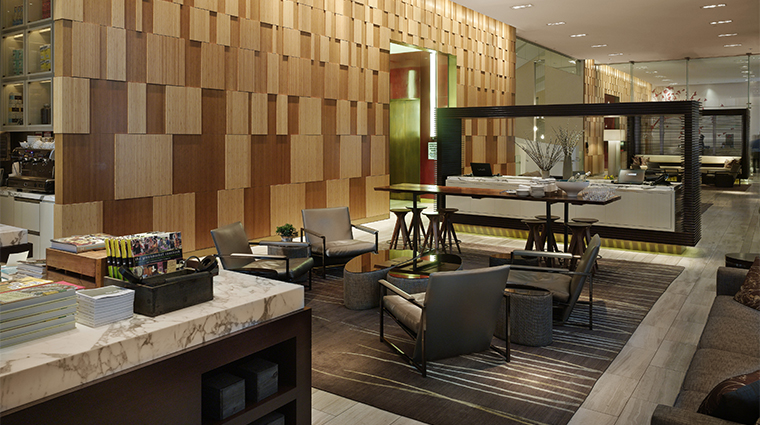 PropertyImage AndazWallStreet 2 Hotel PublicSpaces LobbyLoungeWithRetailArea CreditHyattCorporation