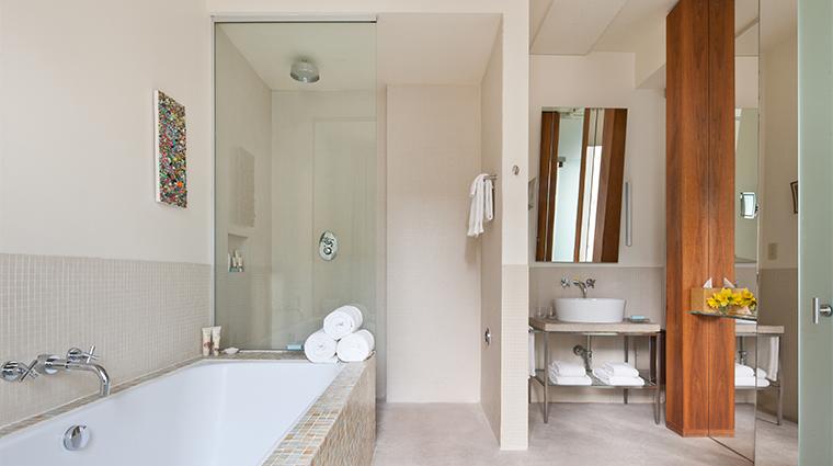 PropertyImage ChambersHotel 10 Hotel GuestroomSuite DuplexSuite Bathroom CreditChambersHotel