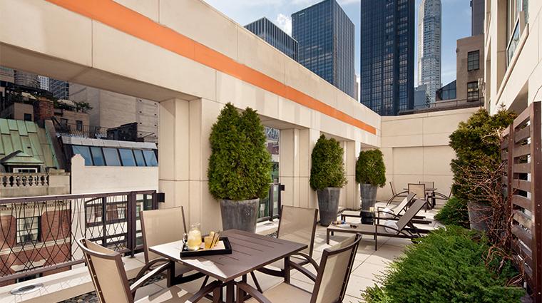 PropertyImage ChambersHotel 14 Hotel GuestroomSuite TerraceSuite Terrace CreditChambersHotel