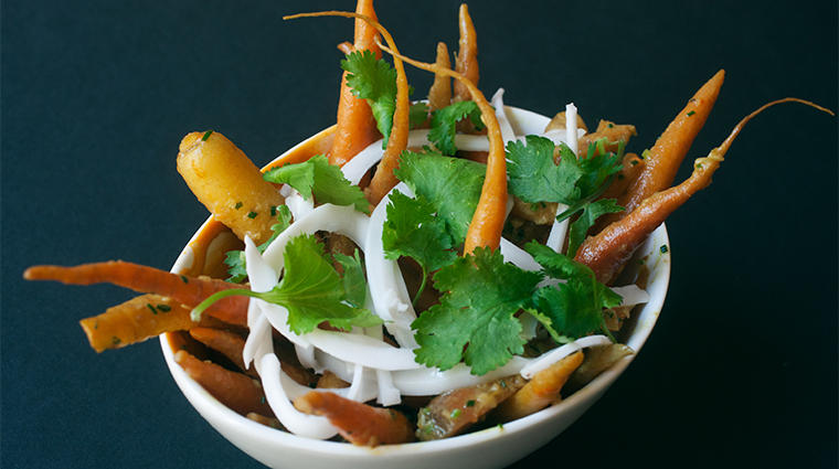 PropertyImage ChambersHotel 16 Hotel Restaurant MaPeche CarrotsWithCoconutCurryAndNewMexicanChili CreditGabrieleStabile