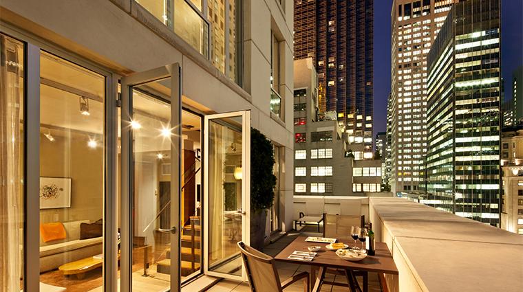 PropertyImage ChambersHotel 3 Hotel GuestroomSuite DuplexSuite Terrace CreditChambersHotel