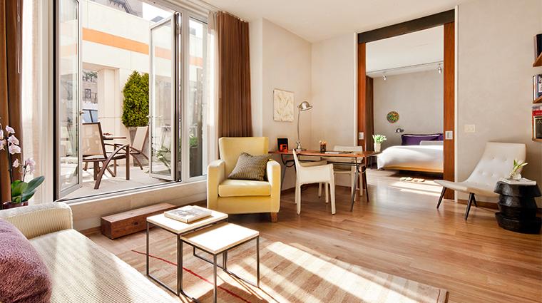 PropertyImage ChambersHotel 4 Hotel GuestroomSuite TerraceSuite LivingRoom CreditChambersHotel