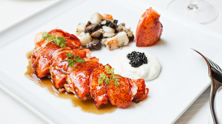 PropertyImage CharlestonGrill Restaurant Food MaineLobster CreditCharlestonGrill