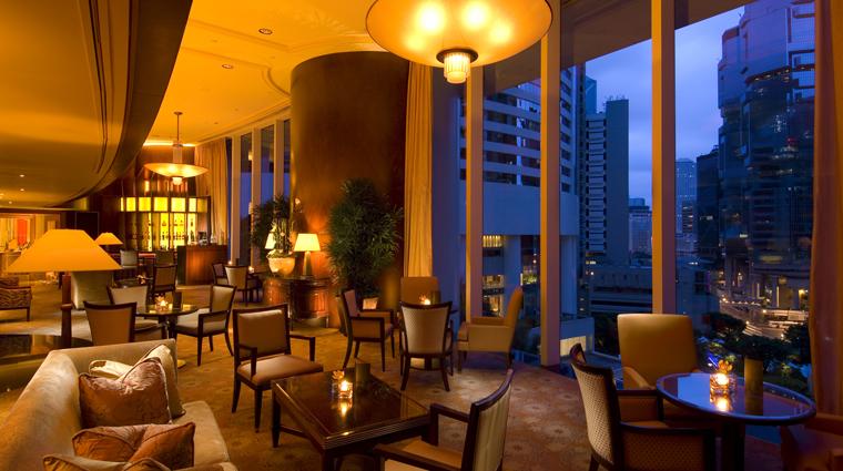 PropertyImage ConradHongKong HongKong Hotel BarLounge PacificBar CreditHiltonWorldwide