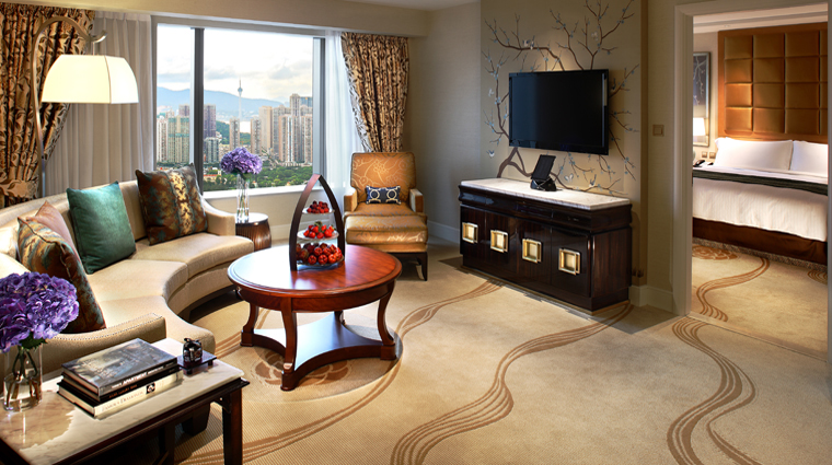 PropertyImage ConradMacaoCotaiCentral Hotel GuestroomSuite KingDeluxeSuite LivingRoom CreditHiltonWorldwide