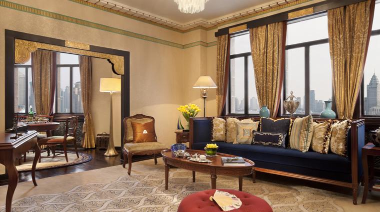 PropertyImage FairmontPeaceHotel Shanghai Hotel Guestrooms ItalianSuite 1 CreditFairmontPeaceHotelVFMLeonardoInc