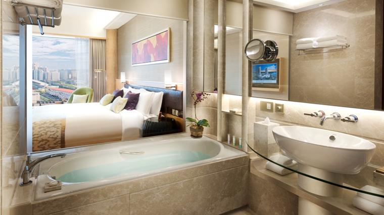 PropertyImage GalaxyHotel Hotel GuestroomSuite GalaxyRoom Bathroom CreditGalaxyHotelManagementCoLtd