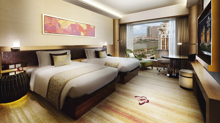 PropertyImage GalaxyHotel Hotel GuestroomSuite GalaxyRoom DoubleBedBedroom CreditGalaxyHotelManagementCoLtd