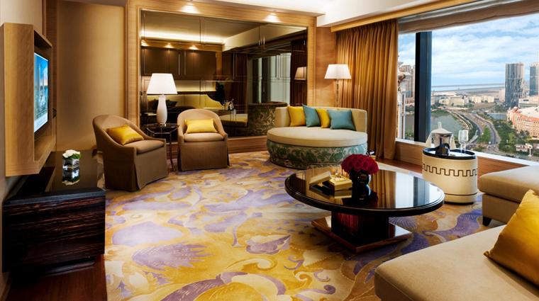 PropertyImage GalaxyHotel Hotel GuestroomSuite PremierSuite Lounge CreditGalaxyHotelManagementCoLtd