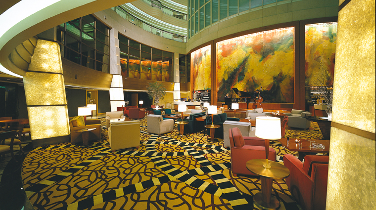 PropertyImage GrandHyattShanghai Shanghai Hotel BarLounge PatioLounge Interior 2 CreditHyattCorporation