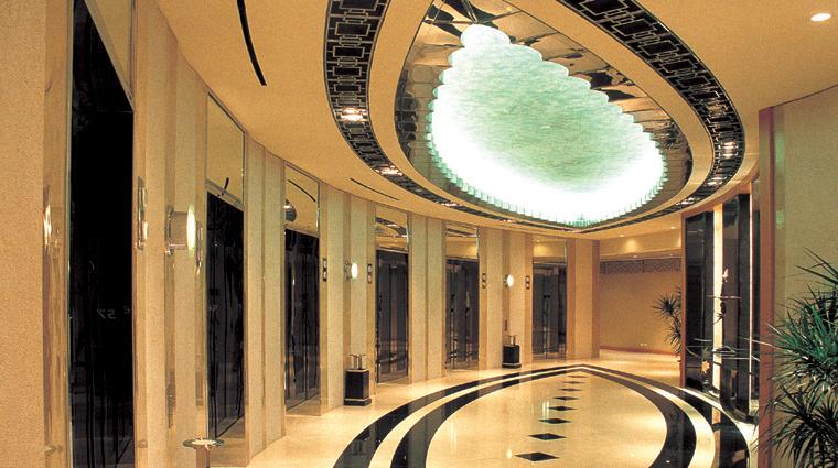 PropertyImage GrandHyattShanghai Shanghai Hotel ElevatorBank Lobby CreditHyattCorporation