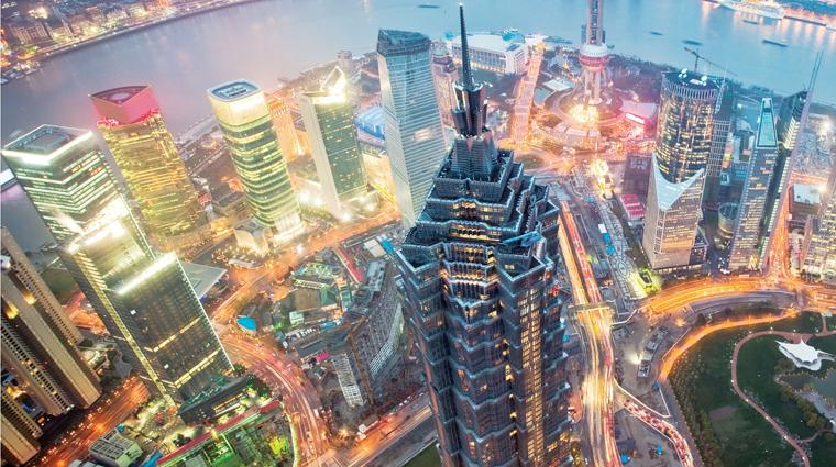 PropertyImage GrandHyattShanghai Shanghai Hotel Exterior CreditHyattCorporation