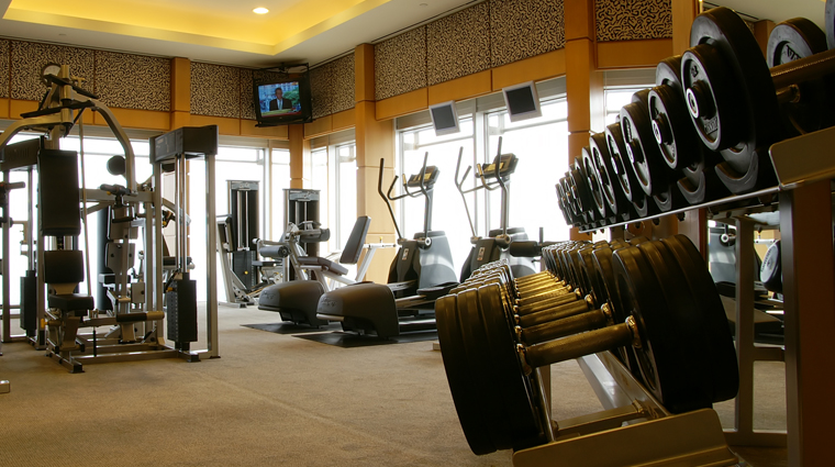 PropertyImage GrandHyattShanghai Shanghai Hotel PublicSpaces FitnessCenter CreditHyattCorporation