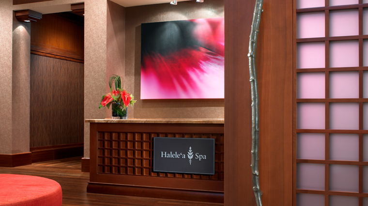 PropertyImage HaelelaSpa Hawaii Spa Style SpaReception CreditStarwoodHotelsAndResortsWorldwideInc