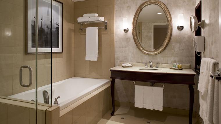 PropertyImage HarrahsNewOrleans Hotel GuestroomsandSuites StandardBath CreditHarrahsNewOrleans