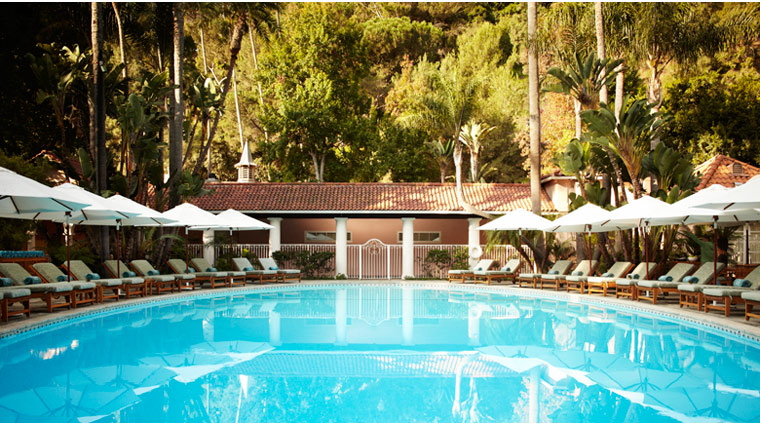 PropertyImage HotelBel Air LosAngeles Hotel Pool CreditDorchesterCollection