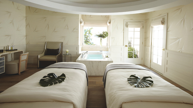 PropertyImage HotelBelAirSpabyLaPrairie LosAngeles Spa Basics CouplesTreatmentRoom CreditDorchesterCollection