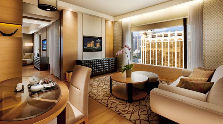 PropertyImage HotelOkuraMacau Hotel GuestroomSuite SuperiorSuite SittingRoom CreditGalaxyHotelManagementCoLtd