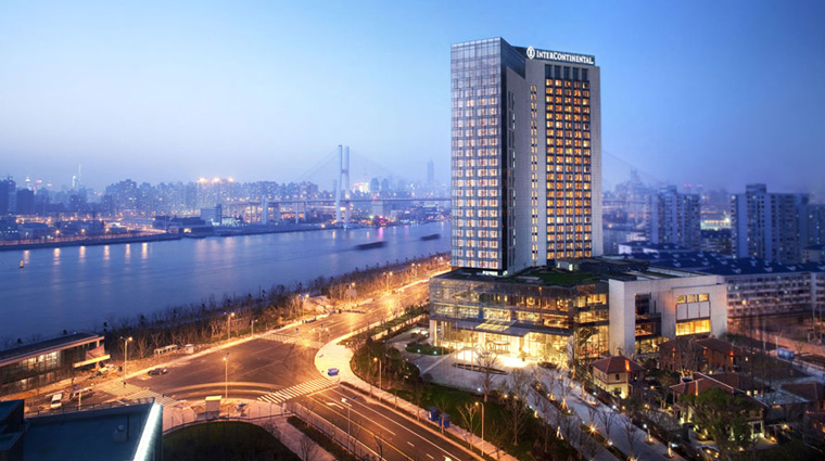 PropertyImage InterContinentalShanghaiExpo Shanghai Hotel Exterior CreditInterContinentalHotelsGroup