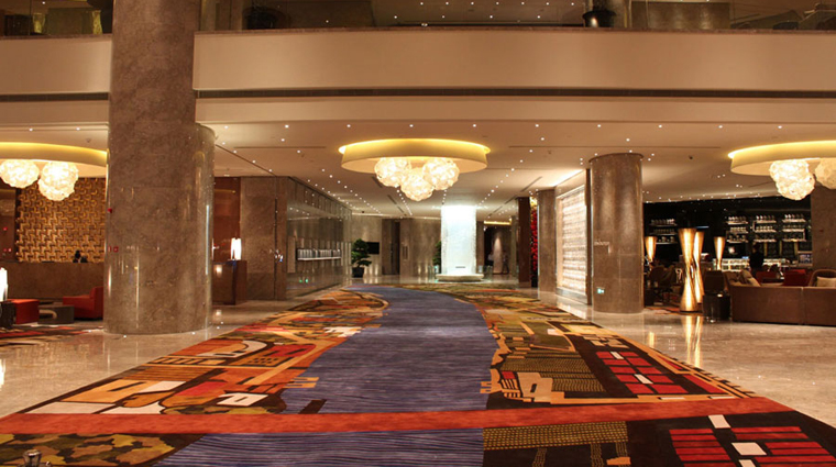 PropertyImage InterContinentalShanghaiExpo Shanghai Hotel PublicSpaces Lobby CreditInterContinentalHotelsGroup